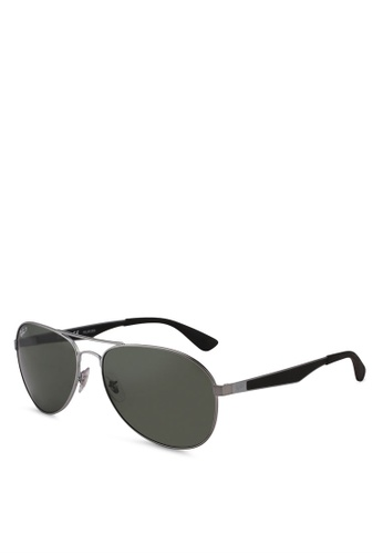Ray-Ban grey RB3549 Sunglasses 5FA65GL962328EGS_1