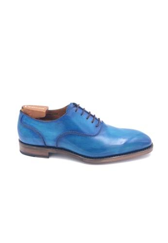 Giorostan blue Men Formal Oxford Shoes 38567SHCA57CBEGS_1