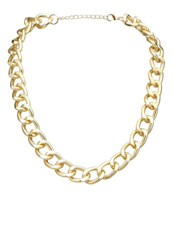 Red's Revenge gold Chic Chain Link Necklace 78AD2AC3B6FF11GS_1