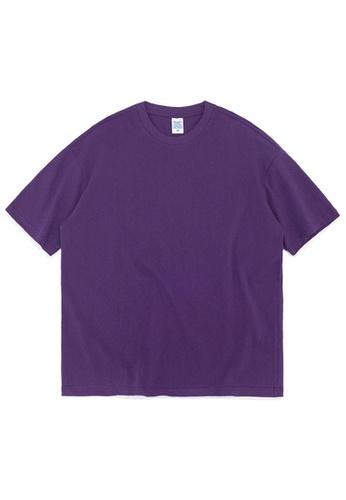 Twenty Eight Shoes Oversize Plain T-Shirts 8193S DA509AA5B26580GS_1