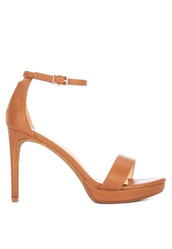 Primadonna brown Heeled Sandals 2E617SHBFF52C8GS_1