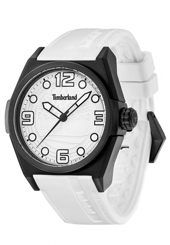 Timberland white Timberland RADLER White  42mm Men's Watches (TBL.13328JPB/01) 8AA2EACDC3F018GS_1