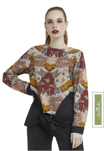 Agrapana brown Bhamana Batik Couple Baju Batik Wanita Atasan Batik Wanita Blouse Batik Wanita Batik Sarimbit Batik Wanita Premium 244D0AA5FFCA2DGS_1