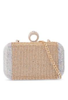 d6cabfaebed971 glamorous gold Diamante Clutch Bag 701F9ACEF85763GS_1