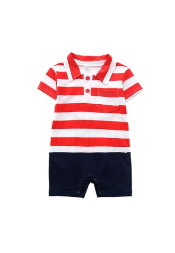 RAISING LITTLE multi Valero Romper - Red 81CCCKA1944AECGS_1