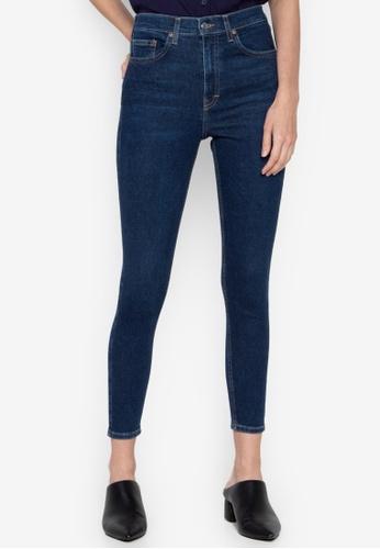 ceae21ad99 Shop TOPSHOP Indigo Jamie Jeans Online on ZALORA Philippines