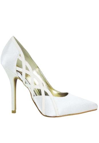 Jacque white Mia White Heel JA262SH52LXRMY_1