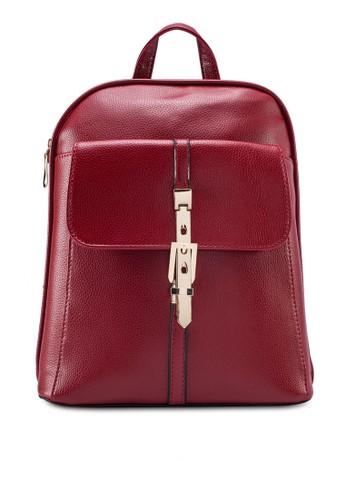 金鎖鵝卵紋後背包, 包, 後zalora是哪裡的牌子背包