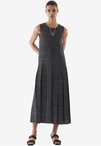 COS black Pleated Dress 0FD12AA55B8D68GS_1