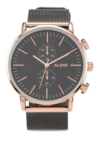 ALDO black Zearien Watch EB60AAC97D9158GS_1