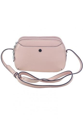 bc9008732cc9 Circle Cross pink Circle Cross - Simple Design Leather Shoulder Bag  A52CCAC3635959GS 1