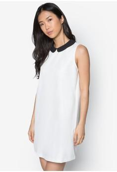 Sleeveless Peterpan Collar Dress