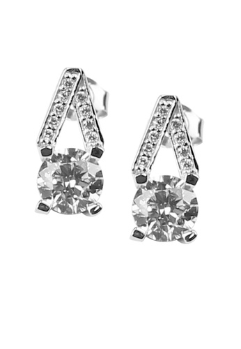 The LoveMark silver Vesper Silver Earrings TH516AC18XSBPH_1