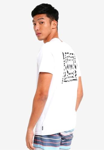 Billabong 白色 短袖印花T恤 BI783AA0SXGUMY_1
