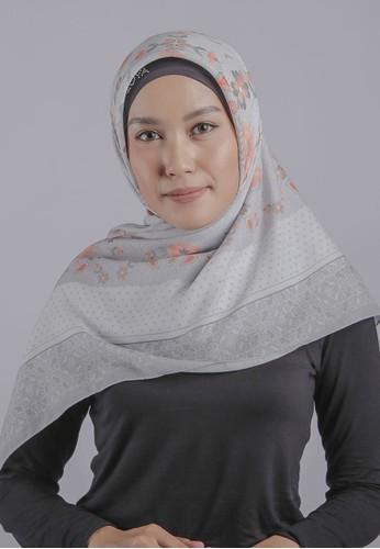 ZOYA grey Auranti scarf Ice Grey  - ZOYA A1271AA6D97B2BGS_1