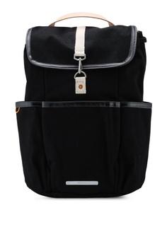 1013eda67c182 Rawrow black Canvas 700 Park Pack 15 Inch Rucksack Bag 59687AC282928CGS 1