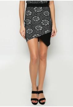 Donetta Asymmetrical Skirt
