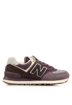 wholesale dealer e0bab 87ea3 New Balance purple 574 Lifestyle Shoes 74A98SH0F97302GS 1