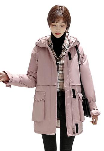 Sunnydaysweety pink Padded Coat A102204PI 20C8BAA14610B5GS_1