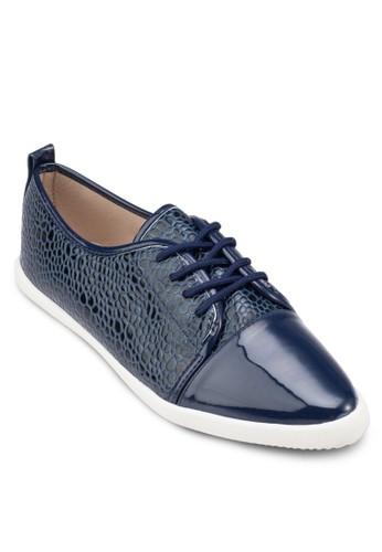 蛇紋拼接zalora 手錶 評價繫帶皮鞋, 女鞋, 休閒鞋