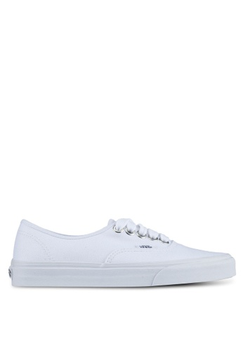 VANS white Authentic Oversized Lace Sneakers VA142SH0SWVIMY_1