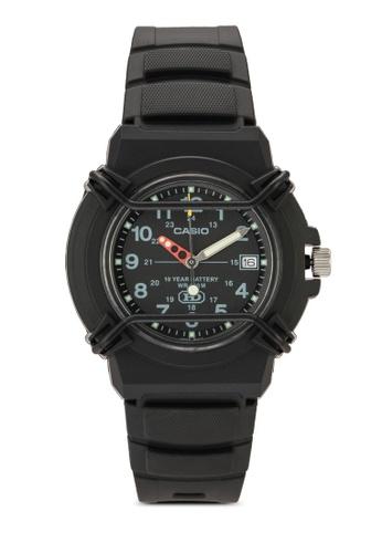 Casio black Casio Enticer Analog Black Dial Men's Watch - HDA-600B-1BVDF CA843AC45YQCMY_1