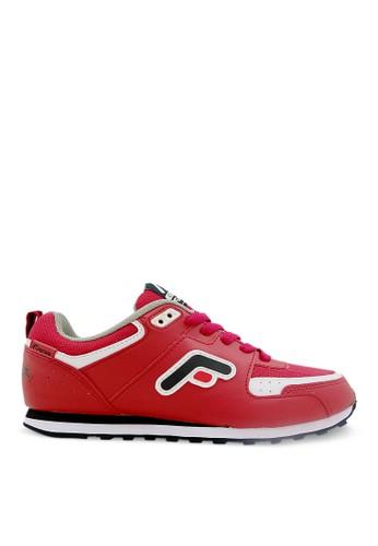 FANS red Fans Eureka R - Running Shoes Red Black FA469SH71MWQID_1