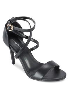 Strappy Criss Cross Sandal Heels