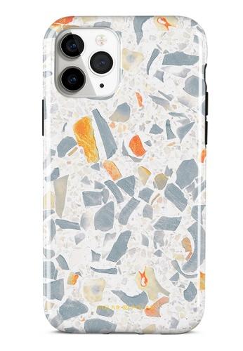 Polar Polar grey Terrazzo Grey Dual-Layer Tough Case Glossy For iPhone 11 Pro E2C0EAC4C89CA5GS_1
