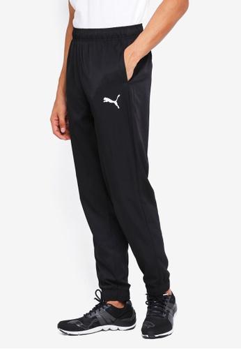 Puma black Sportstyle Core Ess Active Woven Pants 473D3AA0CDC687GS_1