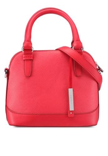 Esprit red Shoulder Bag ES374AC0T180MY_1