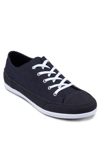 異材質繫帶休閒zalora 心得鞋, 鞋, 鞋
