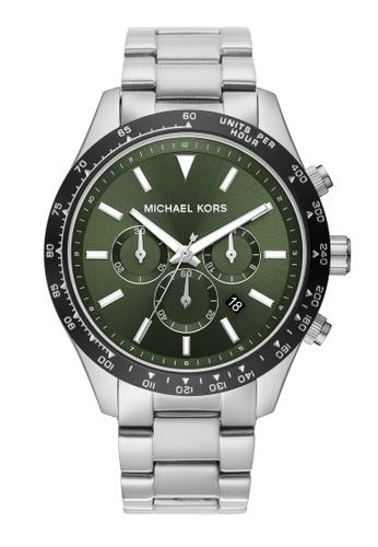 Michael Kors silver Layton Watch MK8912 86956ACCE90AAFGS_1