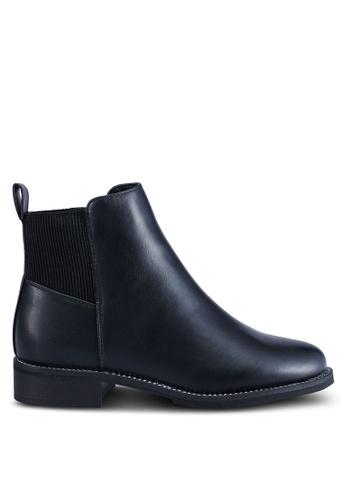 ONLY 黑色 鏈條靴子 49F5BSH88073CBGS_1