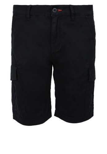 Eiger black Riding Jack Steel Shorts 8FDC0AA573F6CFGS_1