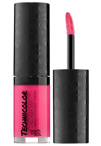 ผลการค้นหารูปภาพสำหรับ Touch In Sol Technicolor Lip & Cheek Tint with Powder Finish
