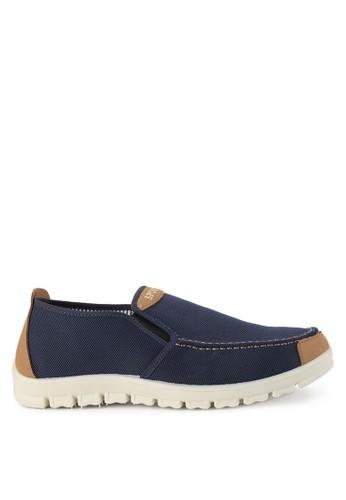 Declan navy Axel  Slip On Sneakers 9A58CSH9961500GS_1