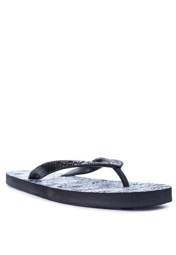 BENCH black Printed Slippers BE550SH40EJBPH_1