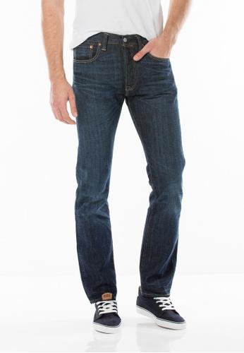 Levi's blue 501® Original Fit Jeans LE843AA83JGQSG_1