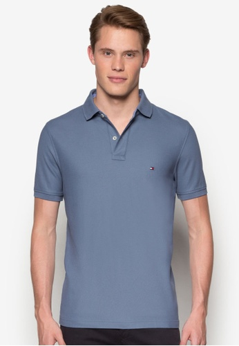 Tommy Hilfiger blue 50/2 PERFORMANCE POLO S/S SF TO861AA59GMIMY_1