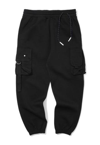 Fivecm black Cargo joggers 70D43AAE12FCF6GS_1