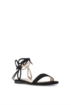 82d82ec4c65e Miss Selfridge Estella Black Laser Cut Sandals RM 179.00. Sizes 3 4 5 6 7