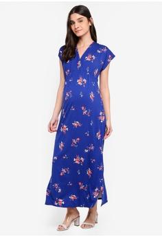 f49286d5e65ef Envie De Fraise blue Maternity Christelle Dress F78DBAA32E70B3GS 1